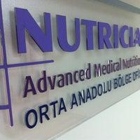 Photo taken at Nutricia Ankara by Serkan T. on 8/2/2013
