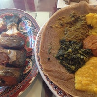 Photo taken at Ibex Ethiopian Restaurant by Michelle C. on 3/30/2014