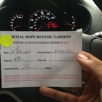 Photo taken at Hope Botanical Gardens by Garfene G. on 12/4/2012
