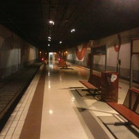 Photo taken at Fuengirola Railway Station by Karlos S. on 3/17/2013