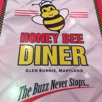 Photo taken at Honey Bee Diner by Tobi D. on 2/3/2018