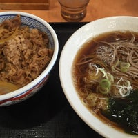 Photo taken at Yoshinoya by Masatoshi T. on 1/17/2016