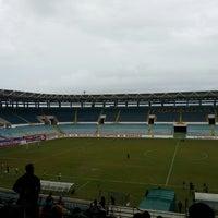 Photo taken at Estadio Monumental de Maturín by R B. on 10/5/2014