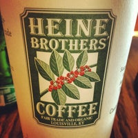 Photo taken at Heine Brothers' Coffee by David H. on 12/23/2012