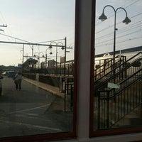 Photo taken at NJT - Aberdeen-Matawan Station (NJCL) by Cash D. on 9/28/2012