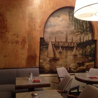 Photo taken at Café Gnosa by Michael K. on 9/21/2013