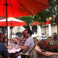 Photo taken at Trattoria Villagio by Alicia C. on 7/15/2018