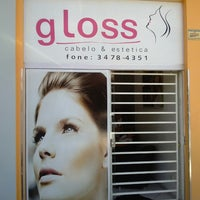 Photo taken at Gloss Cabelo & Estética by Bruno S. on 2/16/2013