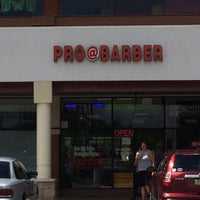 Photo taken at Pro@Barber by brendan h. on 8/24/2014