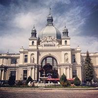 Photo taken at Lviv Railway Station by Oleh K. on 5/7/2013