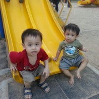 Photo taken at Playground Pantai Teluk Ketapang by aQidz a. on 5/22/2013