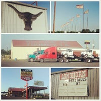 Photo taken at Longhorn Truck and Car Plaza by Sean S. on 8/6/2013