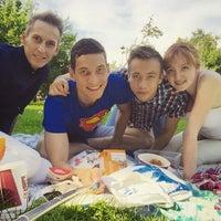 Photo taken at летняя читальня на ВДНХ by Alexander on 7/25/2015