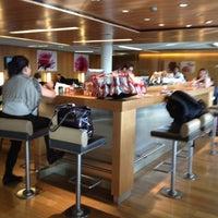 Photo taken at Air France Lounge by Oleg T. on 10/22/2012