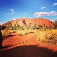 Photo taken at Uluru by Apoorv M. on 12/26/2012