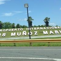 Photo taken at Luis Muñoz Marín International Airport (SJU) by Albert M. on 7/29/2013