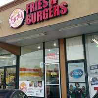 Photo taken at Funky Fries and Burgers by Bradford B. on 2/19/2016