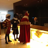 Photo taken at Hilton Rotterdam by Jan R. on 12/5/2012