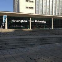 Photo taken at Nottingham Trent University by Makbule G. on 3/2/2013