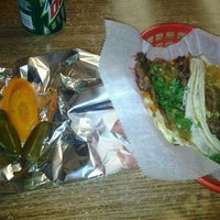Photo taken at Mr. Taco by Christopher B. on 9/20/2012