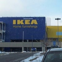 Photo taken at IKEA by Brian H. on 3/25/2013