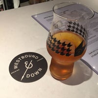 Photo taken at Westbound & Down Brewing Company by Ian H. on 7/16/2017