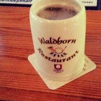 Photo taken at Waldhorn Restaurant by Javier M. on 7/16/2014