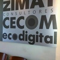 Photo taken at Zimat by Eduardo C. on 11/26/2012