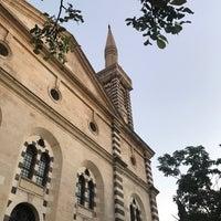 Photo taken at Kurtuluş Camii by Ismail Ö. on 8/9/2018