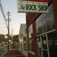 Photo taken at The Rock Shop by John L. on 12/22/2012