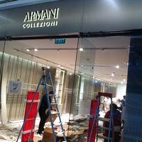 Photo taken at Armani Collezioni by B S. on 2/27/2014