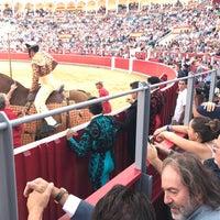 Photo taken at Plaza De Toros Albacete by Martín O. on 9/14/2017