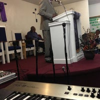 Photo taken at God's Glory Apostolic Church by Praxeas T. on 3/3/2013