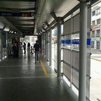 Photo taken at MIO Estacion Manzana del Saber by Edgar C. on 9/30/2012