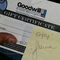 Photo taken at Goodwill by foodie h. on 12/13/2014