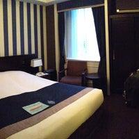 Photo taken at Hotel Monterey Kyoto by Csilla F. on 4/12/2013