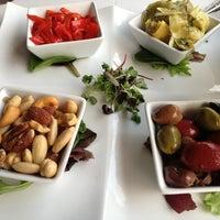 Photo taken at Olivos Restaurant by Heather on 3/25/2013