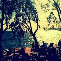 Photo taken at Rivera Beach Bar by Stefanos X. on 5/25/2013