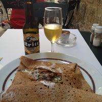Photo taken at Crêperie Bretonne Annaick by Derek F. on 7/9/2013