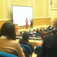 "Photo taken at Biblioteca Centrală Universitară ""Carol I"" by Maria H. on 10/30/2012"