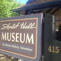 Photo taken at Sharlot Hall Museum by Aliza S. on 5/25/2014