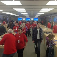 Photo taken at Apple Anchorage 5th Avenue Mall by Aliza S. on 11/23/2012