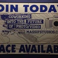 Photo taken at Massif Studio Space Denver by Merhia W. on 1/17/2014
