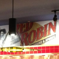 Photo taken at Red Robin Gourmet Burgers by Sameer S. on 10/21/2012