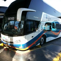 Photo taken at Terminal de Buses Santiago by Pablo Alej. G. on 7/23/2013