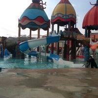 Photo taken at Sun City Waterpark, Madiun by klafix w. on 8/15/2013
