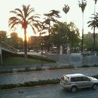 Photo taken at Plaza Pedro de Valdivia by Ivett F. on 10/3/2012