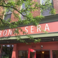 Photo taken at Bona Sera Café by Ian T. on 7/22/2017