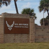 Photo taken at PAFB South Beach by Ian T. on 11/12/2013