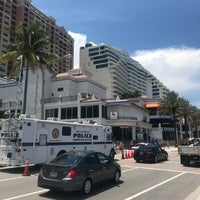 Photo taken at Ft. Lauderdale Beach @ Beach Place by Ian T. on 7/4/2018